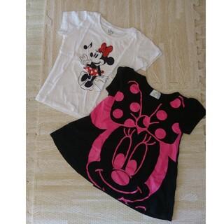 ユニクロ(UNIQLO)のDisney ミニー 半袖 Tシャツ 95 100cm(Tシャツ/カットソー)