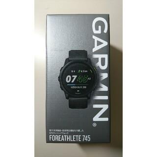 【新品未使用】GARMIN ForeAthlete 745 Black