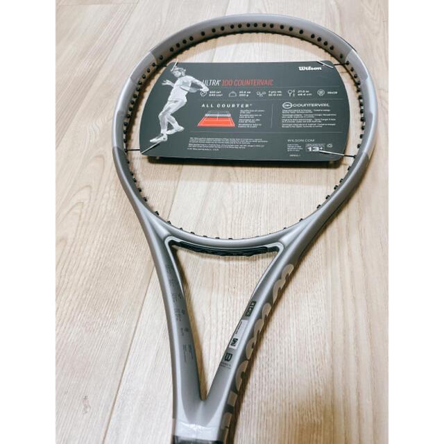 wilson(ウィルソン)のWilson ラケット PLATINUM Series ULTRA 100CV スポーツ/アウトドアのテニス(ラケット)の商品写真
