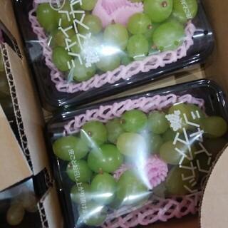 ブルーベリー3パックとツブツブのシャインマスカット1パック(フルーツ)