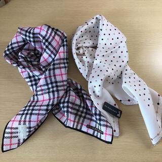 バーバリー(BURBERRY)のバーバリー スカーフ 2枚◇(バンダナ/スカーフ)