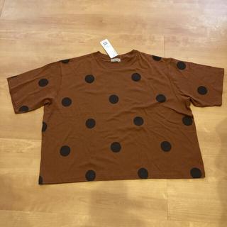 サマンサモスモス(SM2)の最終値下げ ビッグシルエットTシャツ オレンジ!(Tシャツ/カットソー(半袖/袖なし))