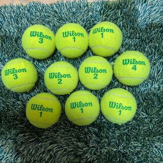 ウィルソン(wilson)のグリーンボールテニス(ボール)