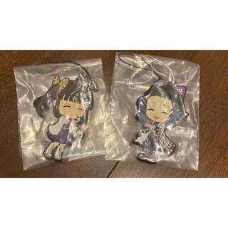 鬼滅の刃 ラバーストラップ 胡蝶しのぶ カナヲ(キャラクターグッズ)