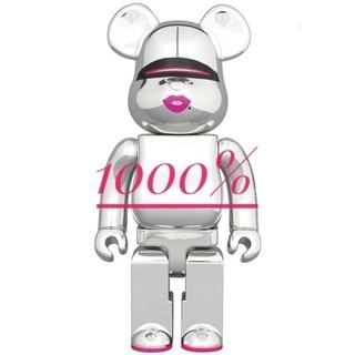 メディコムトイ(MEDICOM TOY)のBE@RBRICK SORAYAMA 2G SILVER 1000%(その他)