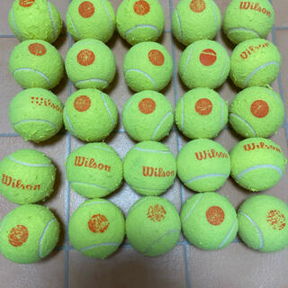 ウィルソン(wilson)のオレンジボールテニス(ボール)