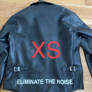 ジーユー(GU)の(XS) GU × UNDERCOVER ライダースジャケット(ライダースジャケット)