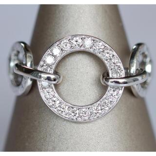 セリーヌ(celine)の750 WG セリーヌ CELINE ダイヤモンド リング 13号 13.5号(リング(指輪))