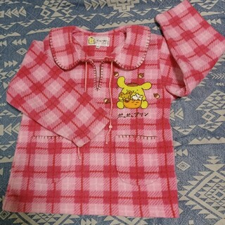 ポムポムプリン(ポムポムプリン)のポムポムプリンのフリース服120(Tシャツ/カットソー)