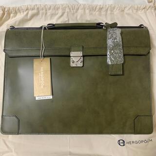 エルゴポック(HERGOPOCH)の【新品・未使用】エルゴポック ワキシングレザー ブリーフケース 06シリーズ(ビジネスバッグ)