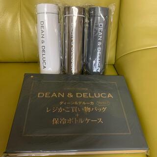 ディーンアンドデルーカ(DEAN & DELUCA)のGLOW8月号 ディーン&デルーカ ボトル3本 レジかごバッグ ボトルケース(収納/キッチン雑貨)