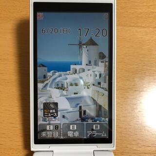 パナソニック(Panasonic)のソフトバンク ガラケー パナソニック 401PM SIMロック解除済(携帯電話本体)