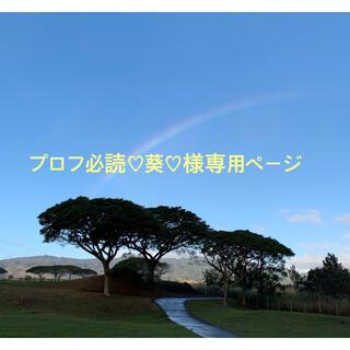 プロフ必読♡葵♡様専用ページ(その他)