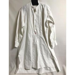 Paul Harnden - 【希少美品】フランス製ビンテージアンティークドレスシャツ20〜30's