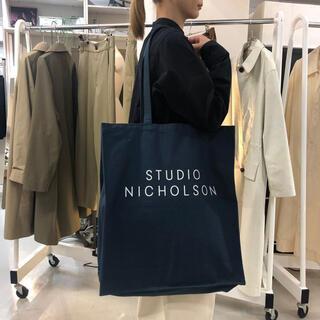 ワンエルディーケーセレクト(1LDK SELECT)の【新品】STUDIO NICHOLSON Cotton Canvas Tote(トートバッグ)