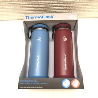 コストコ(コストコ)のTHERMOFLASK  サーモフラスク 700ml 水筒 2本セット(水筒)