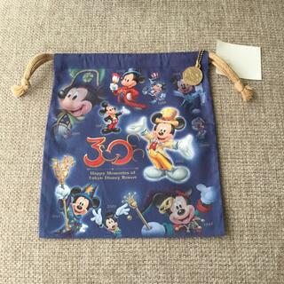 ディズニー(Disney)の東京ディズニーランド✨30周年巾着(キャラクターグッズ)