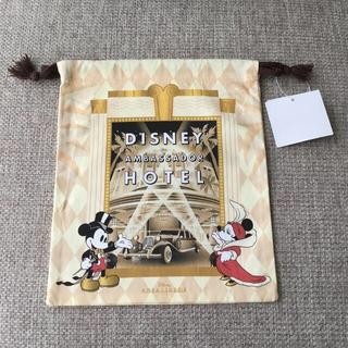 ディズニー(Disney)の東京ディズニーランド✨アンバサダーホテル巾着(キャラクターグッズ)