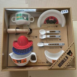 ミキハウス(mikihouse)のミキハウス 離乳食 セット 未使用 出産祝(離乳食器セット)