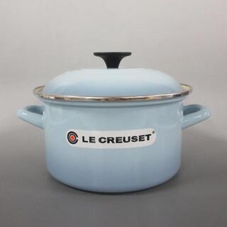 ルクルーゼ(LE CREUSET)のルクルーゼ 食器新品同様  ライトブルー 鍋(その他)