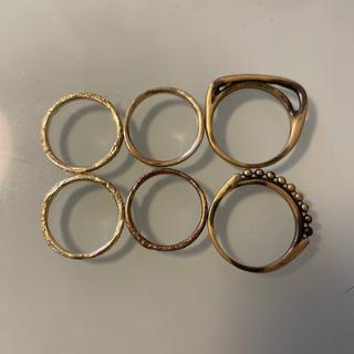 イオッセリアーニ(IOSSELLIANI)のIOSSELLIANI ゴールドリング(リング(指輪))