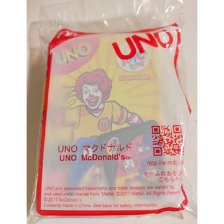 マクドナルド(マクドナルド)のマクドナルド ハッピーセット UNO  新品未開封(トランプ/UNO)