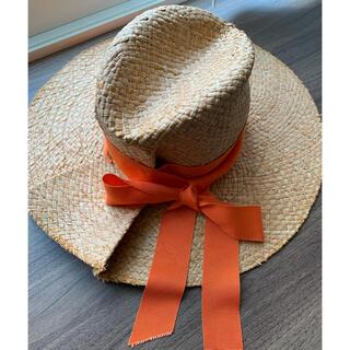 イエナ(IENA)のLola hats  ローラハッツ 麦わら帽子 ストローハット(麦わら帽子/ストローハット)