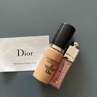 Dior - Dior ミニチュア サンプル ファンデーション リップグロス