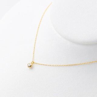 ブルーム(BLOOM)の【BLOOM】新品K18YG ダイヤモンドネックレス(ネックレス)