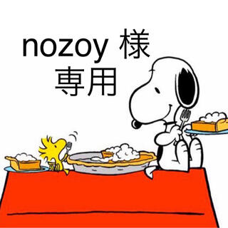 スヌーピー(SNOOPY)のnozoy 様 オーダーページ(ラッピング/包装)