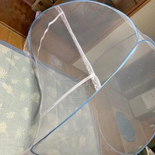 折り畳み 蚊帳 簡単組み立て