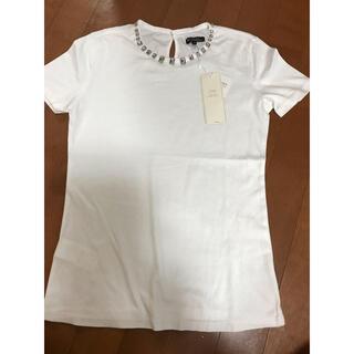 ニジュウサンク(23区)の23区⭐️新品タグ付き。Tシャツ(Tシャツ(半袖/袖なし))