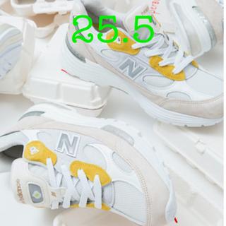 ニューバランス(New Balance)の25.5  PAPERBOY × NEW BALANCE 992 M992PB1(スニーカー)