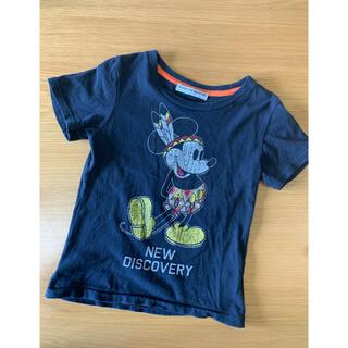 ロデオクラウンズワイドボウル(RODEO CROWNS WIDE BOWL)のRCWBミッキーキッズTシャツ(Tシャツ/カットソー)
