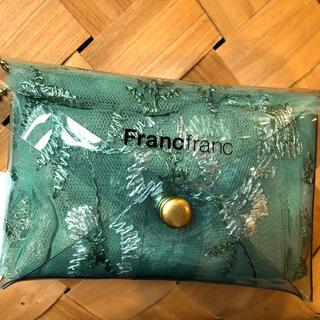 フランフラン(Francfranc)のフランフラン チュールバッグフラワー(エコバッグ)