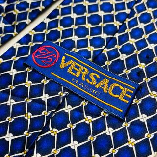 ジャンニヴェルサーチ(Gianni Versace)の即購入OK!3本選んで1本無料!ヴェルサーチ Versace ネクタイ 6569(ネクタイ)