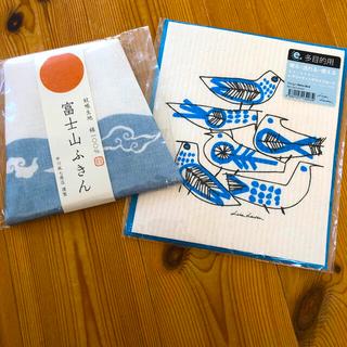 リサラーソン(Lisa Larson)の富士山ふきん リサ・ラーソン グリーティングワイプカード(テーブル用品)