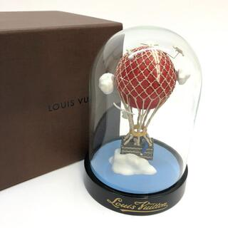 ルイヴィトン(LOUIS VUITTON)の【限定】ルイヴィトン マル・アエロ スノードーム 気球 バルーン(置物)