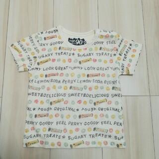 ラフ(rough)のrough キッズ 90 総柄Tシャツ(Tシャツ/カットソー)