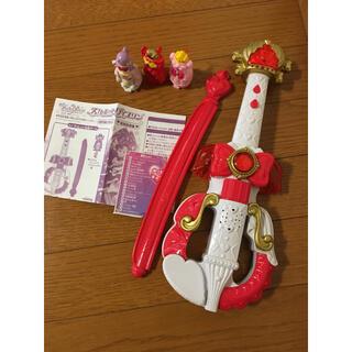 バンダイ(BANDAI)のスカーレットバイオリン&ドレスアップキー(楽器のおもちゃ)
