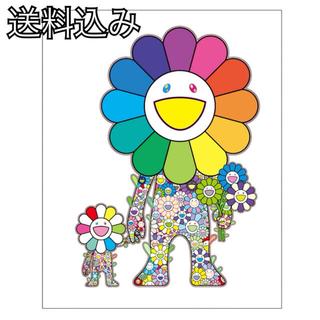 村上隆 ポスター お花の親子(ポスター)