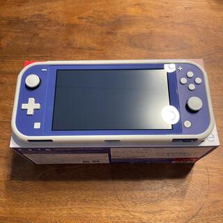 ニンテンドースイッチ(Nintendo Switch)のNintendo switch light 本体 ブルー(家庭用ゲーム機本体)