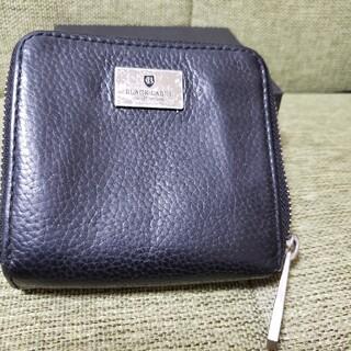 ブラックレーベルクレストブリッジ(BLACK LABEL CRESTBRIDGE)のバーバリーブラックレーベルクレストブリッジ折り財布(折り財布)