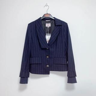 ヴィヴィアンウエストウッド(Vivienne Westwood)の新品未使用 Vivienne Westwood 変形ジャケット ネイビー(テーラードジャケット)