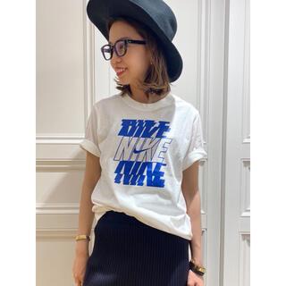 ドゥーズィエムクラス(DEUXIEME CLASSE)の【新品未開封】NIKE LOGO Tシャツ(Tシャツ/カットソー(半袖/袖なし))