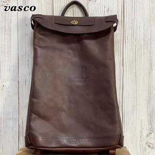 《本革日本製》vasco ヴァスコ レザーボヤージュ 2WAY リュックサック(バッグパック/リュック)