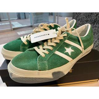 コンバース(CONVERSE)の日本製 コンバース ジャックスター レトロ SU 緑スエード 28センチ 新品(スニーカー)