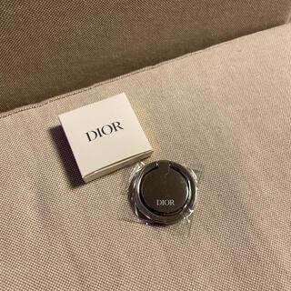 クリスチャンディオール(Christian Dior)の新品未使用 公式ノベルティ DIOR ディオール スマホリング(iPhoneケース)