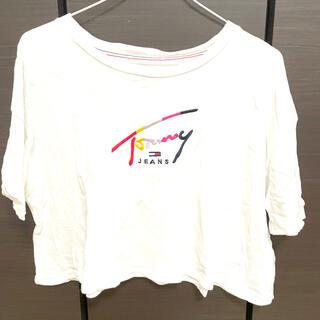 トミー(TOMMY)のTOMMY JEANS クロップドTシャツ(Tシャツ(半袖/袖なし))