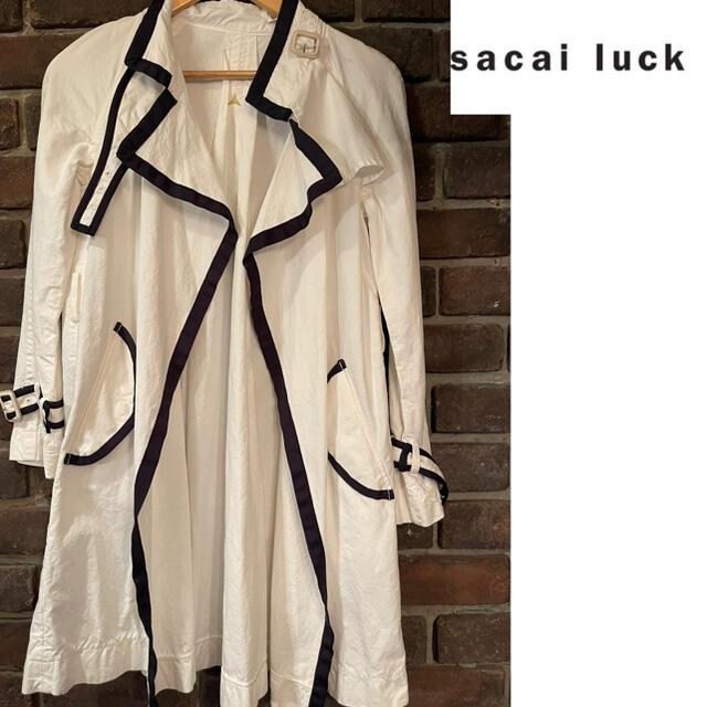 sacai luck(サカイラック)のsacai luck コート/1/コットン/トレンチコート【レディースウェア】 レディースのジャケット/アウター(トレンチコート)の商品写真